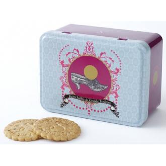 Mini boîte métal sablés nature pur beurre sachets fraîcheur SOULIER