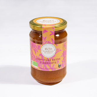 Confiture Extra d'Abricots 350g