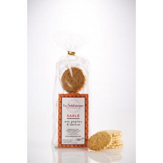 Petits Sablés aux pépites d'abricot en sachet